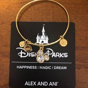Alex and Ani Disney Gold Bracelet April Birthstone
